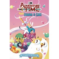 ADVENTURE TIME FIONNA CAKE ORIGINAL GN BASH BLUES - Kate Sheridan