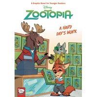 DISNEY ZOOTOPIA HC HARD DAYS WORK (YOUNGER READERS) - Jimmy Gownley