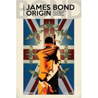 JAMES BOND ORIGIN HC VOL 01 PARKER SGN ED - Jeff Parker