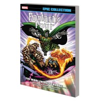 FANTASTIC FOUR EPIC COLLECTION TP MORE THINGS CHANGE - Steve Englehart, Mark G...