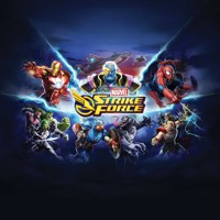 MARVEL STRIKE FORCE HC ART OF GAME