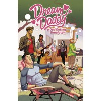 DREAM DADDY DAD DATING COMIC BOOK TP - Leighton Gray