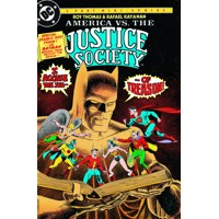 AMERICA VS THE JUSTICE SOCIETY OF AMERICA TP - Roy Thomas