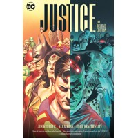 JUSTICE THE DELUXE EDITION HC - Alex Ross, Jim Krueger