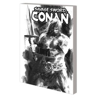SAVAGE SWORD OF CONAN TP VOL 01 CULT OF KOGA THUN B&W DM VAR - Gerry Duggan