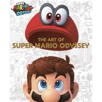 SUPER MARIO ART OF SUPER MARIO ODYSSEY HC