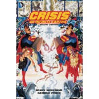 CRISIS ON INFINITE EARTHS 35TH ANNIV DLX ED HC - Mary Wolfman