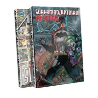 SUPERMAN BATMAN 80 YEARS SLIPCASE SET HC - Various