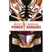 MIGHTY MORPHIN POWER RANGERS DLX HC SHATTERED GRID - Kyle Higgins, Ryan Parrott