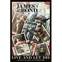 JAMES BOND LIVE & LET DIE HC JENSEN SGN - Van Jensen, Ian Fleming
