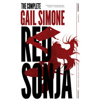 RED SONJA COMPLETE GAIL SIMONE HC OVERSIZED SIMONE SGN - Gail Simone