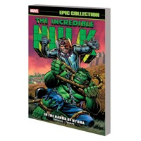 INCREDIBLE HULK EPIC COLLECTION TP IN HANDS OF HYDRA - Roy Thomas, Stan Lee