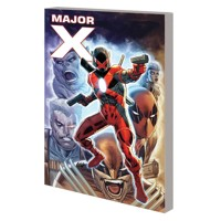 MAJOR X TP - Rob Liefeld