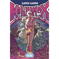 KAIJUMAX TP VOL 04 SEASON FOUR SCALY IS NEW BLACK - Zander Cannon