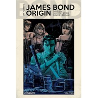 JAMES BOND ORIGIN HC SGN ED VOL 02 - Jeff Parker