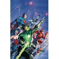 JUSTICE LEAGUE ORIGIN DLX ED HC - Geoff Johns
