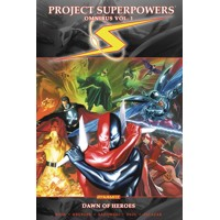 PROJECT SUPERPOWERS OMNIBUS TP VOL 01 DAWN OF HEROES - Jim Krueger, Alex Ross