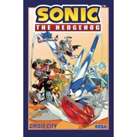 SONIC THE HEDGEHOG TP VOL 05 CRISIS CITY - Ian Flynn
