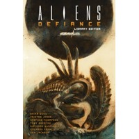 ALIENS DEFIANCE LIBRARY ED HC VOL 01 - Brian Wood