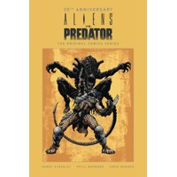 ALIENS VS PREDATOR 30TH ANNIV ORIGINAL COMIC SERIES HC - Randy Stradley