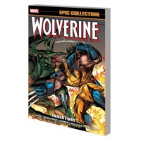 WOLVERINE EPIC COLLECTION TP INNER FURY - Larry Hama, More