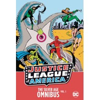 JUSTICE LEAGUE OF AMERICA SILVER AGE OMNIBUS HC VOL 01 NEW ED