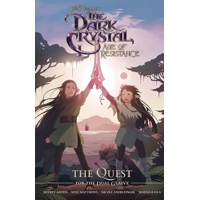JIM HENSON DARK CRYSTAL RESISTANCE QUEST FOR DUAL GLAIVE HC - Nicole Andelfing...