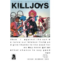 TRUE LIVES FABULOUS KILLJOYS NATIONAL ANTHEM #1 CVR A ROMERO - Gerard Way, Sha...