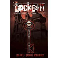 LOCKE & KEY SPANISH ED TP VOL 01 BIENVENIDOS A LOVECRAFT - Joe Hill