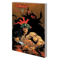 CONAN BATTLE FOR SERPENT CROWN TP - Saladin Ahmed