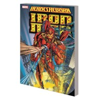 HEROES REBORN TP IRON MAN NEW PTG - Jim Lee, More