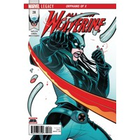 ALL NEW WOLVERINE #28 LEG - Tom Taylor