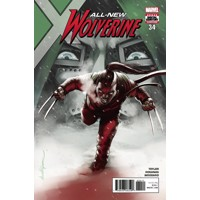 ALL NEW WOLVERINE #34 LEG - Tom Taylor