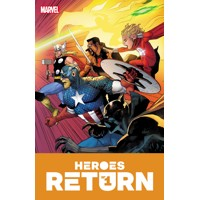 HEROES RETURN #1 - Jason Aaron